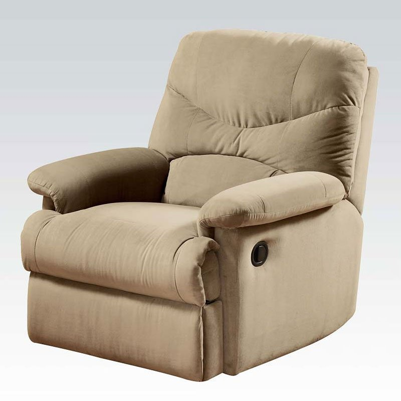Ashley Furniture Arcadia: Arcadia Recliner (Beige) Acme Furniture
