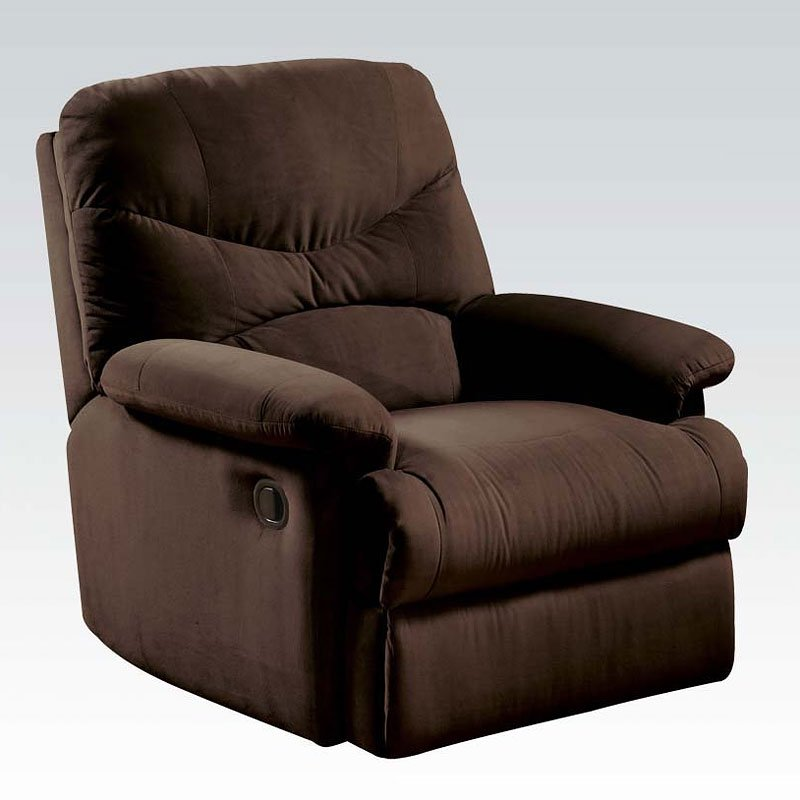 Ashley Furniture Arcadia: Arcadia Glider Recliner (Chocolate) Acme Furniture, 1
