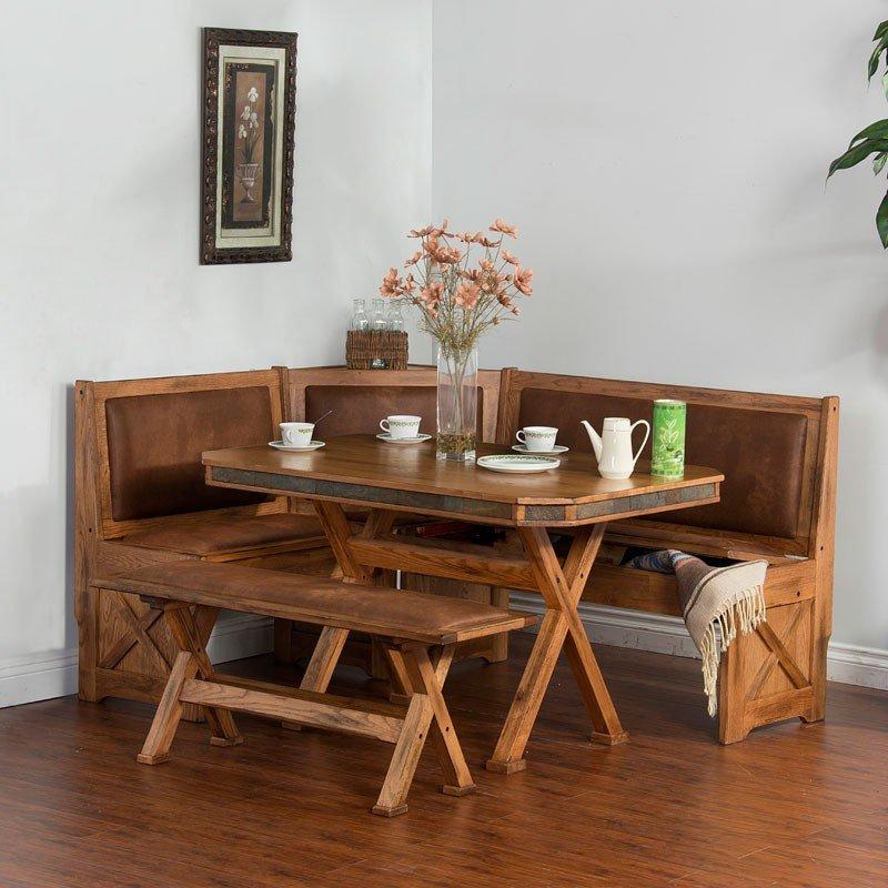 Sedona X-Base Breakfast Nook Set
