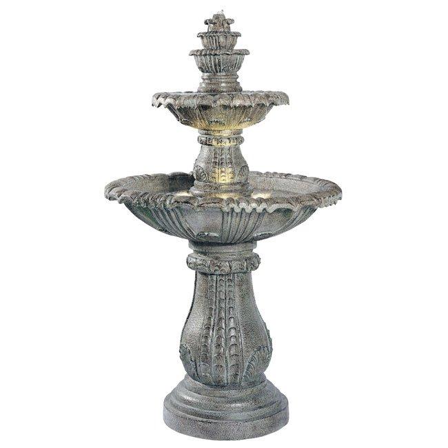 Venetian Floor Fountain (Moss)