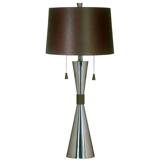 Bella Table Lamp (Brushed Steel)
