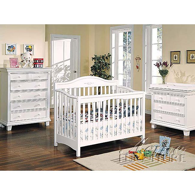 Heartland Nursery Set White