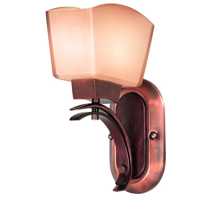 Oslo 1 Light Sconce (Burnished Copper)