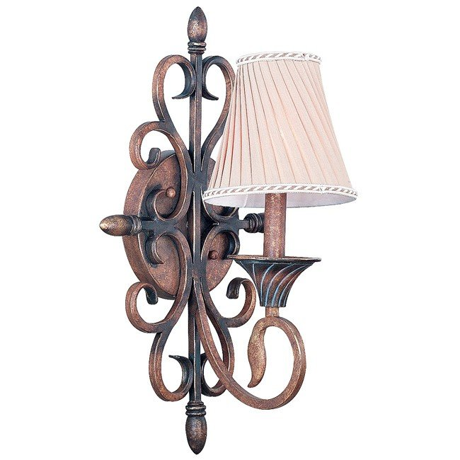 Verona 1 Light Sconce (Aged Golden Copper)