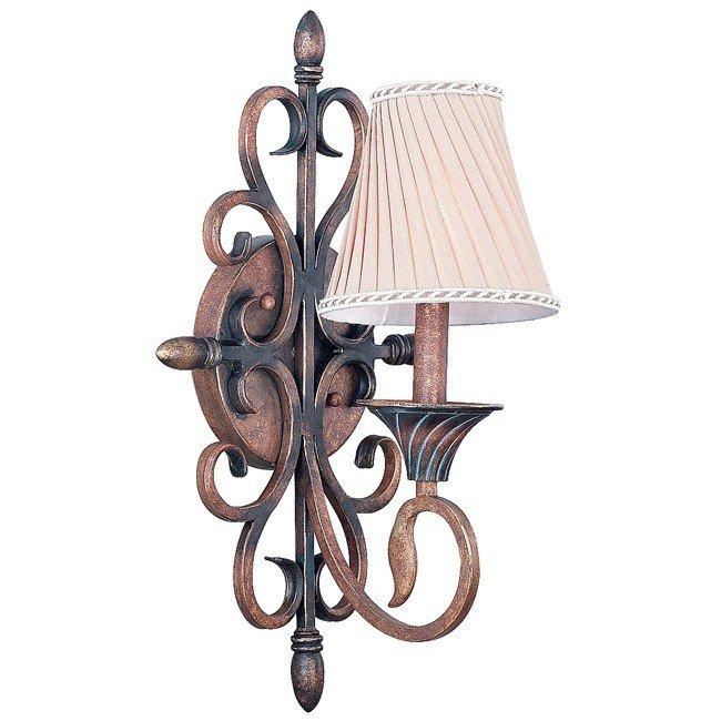Verona 1 Light Sconce (Aged Golden Copper)
