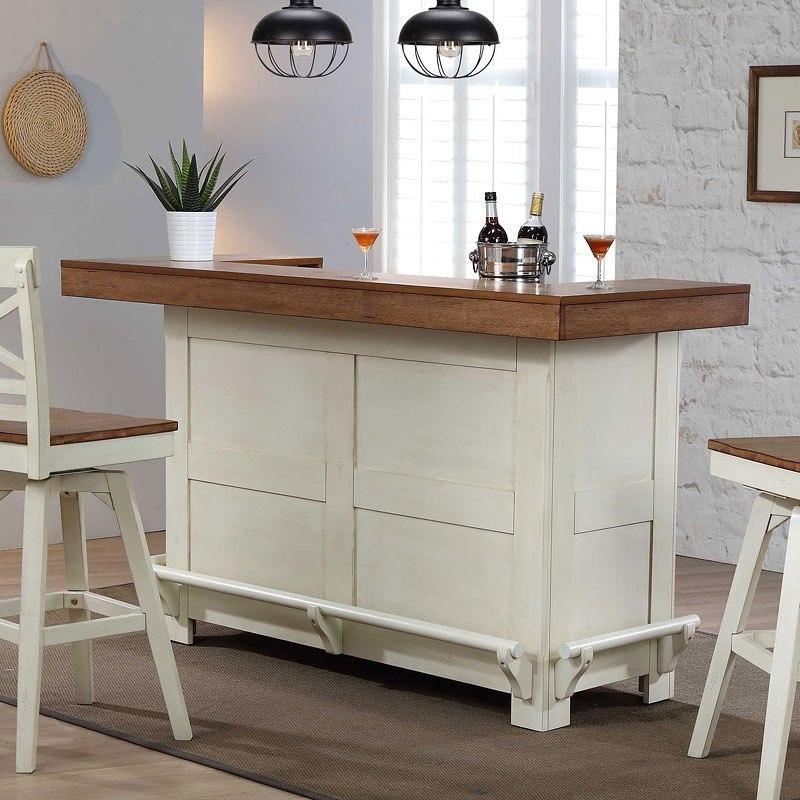 Antique White Home Bar Eci Furniture Furniture Cart
