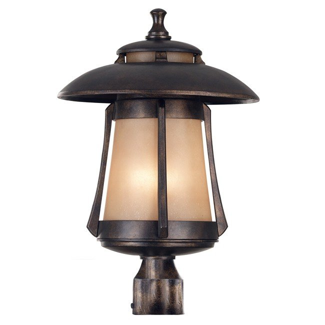Laguna Large Post Lantern (Golden Bronze)