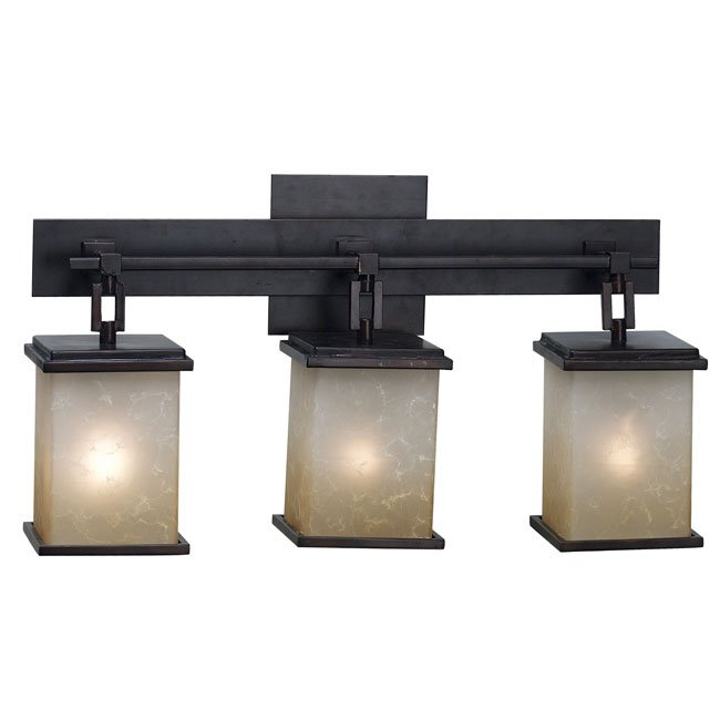 Plateau 3 Light Vanity (Oil Rubbed Bronze)