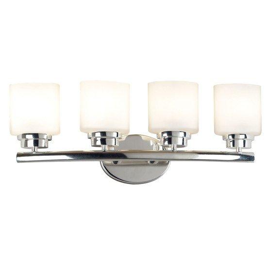 Bow 4 Light Vanity (Polished Nickel)