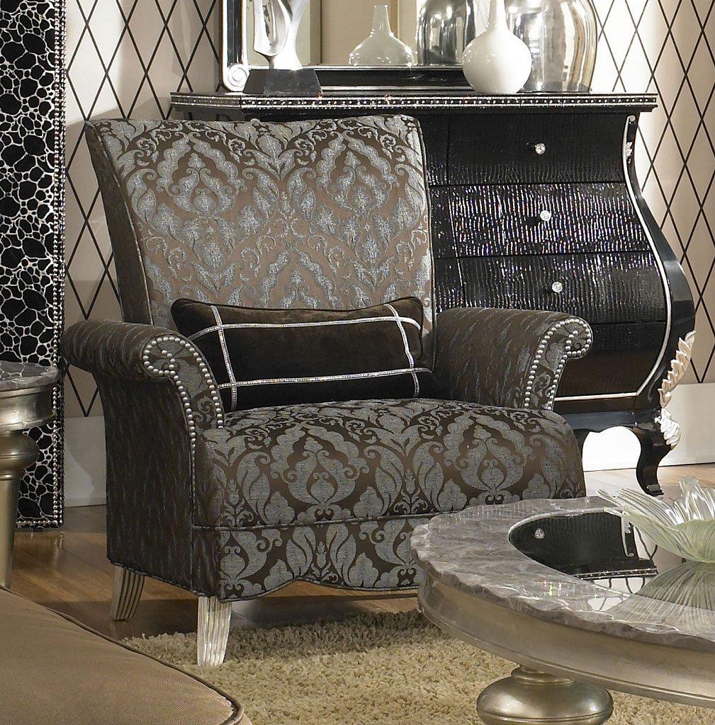 Merveilleux Hollywood Swank High Back Chair