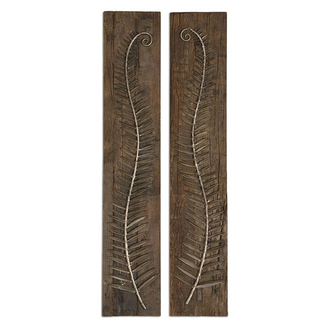 Metal Ferns Metal Wall Art (Set of 2)