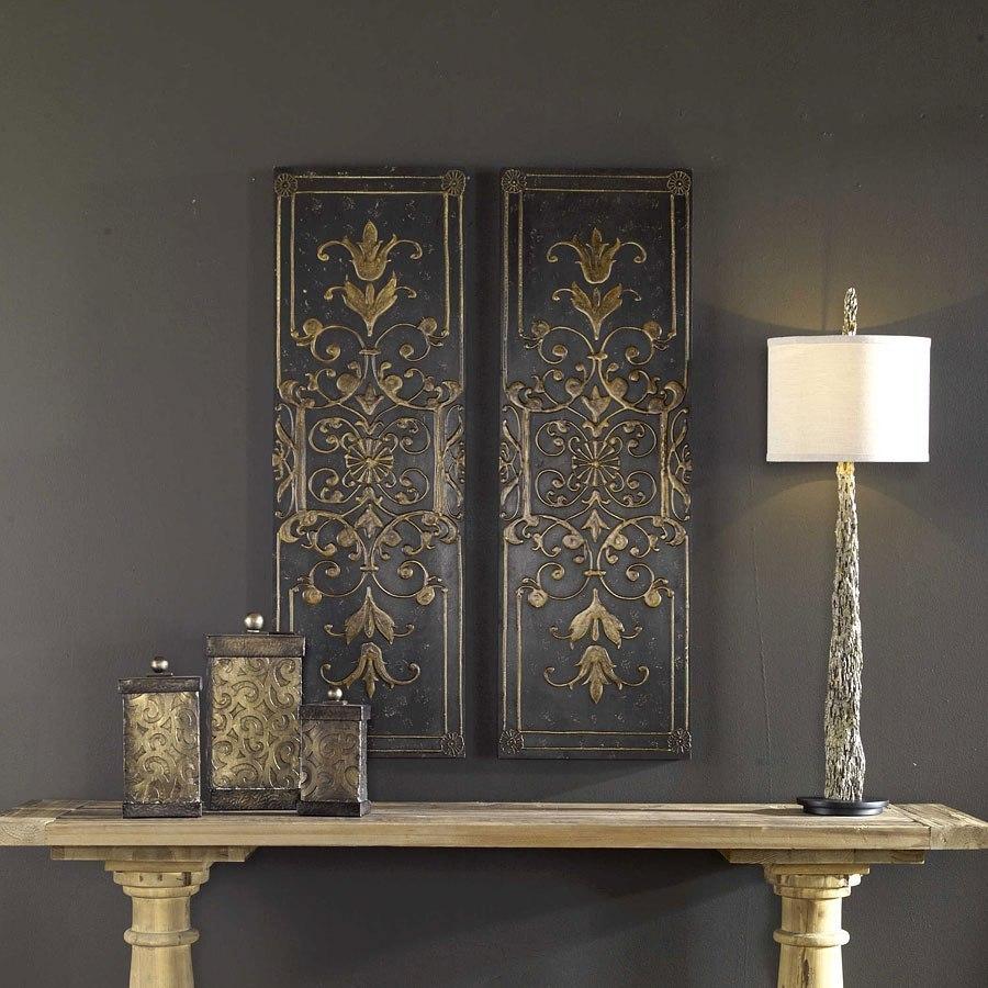 Melani Panels Set Of 2 Uttermost Furniture Cart