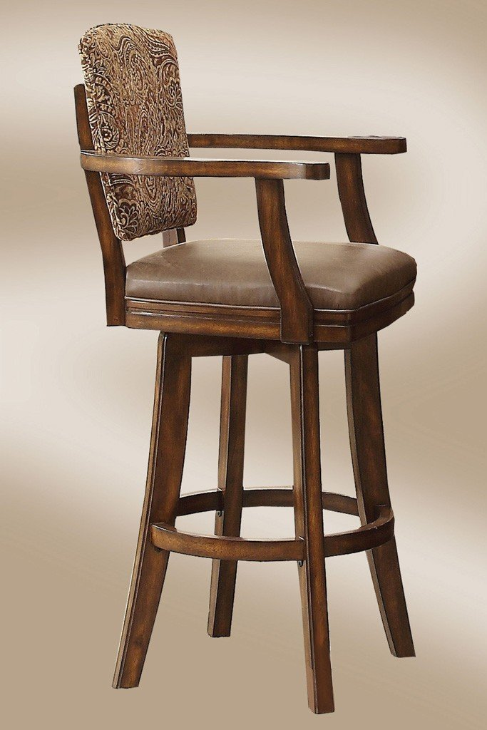 Trafalgar Square 30 Inch Tapestry Bar Stool