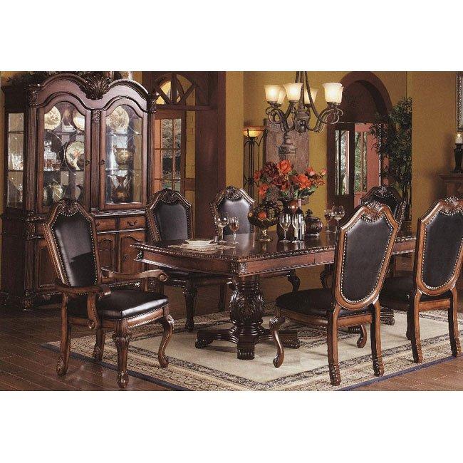 Chateau De Ville Dining Room Set w/ Black Chairs