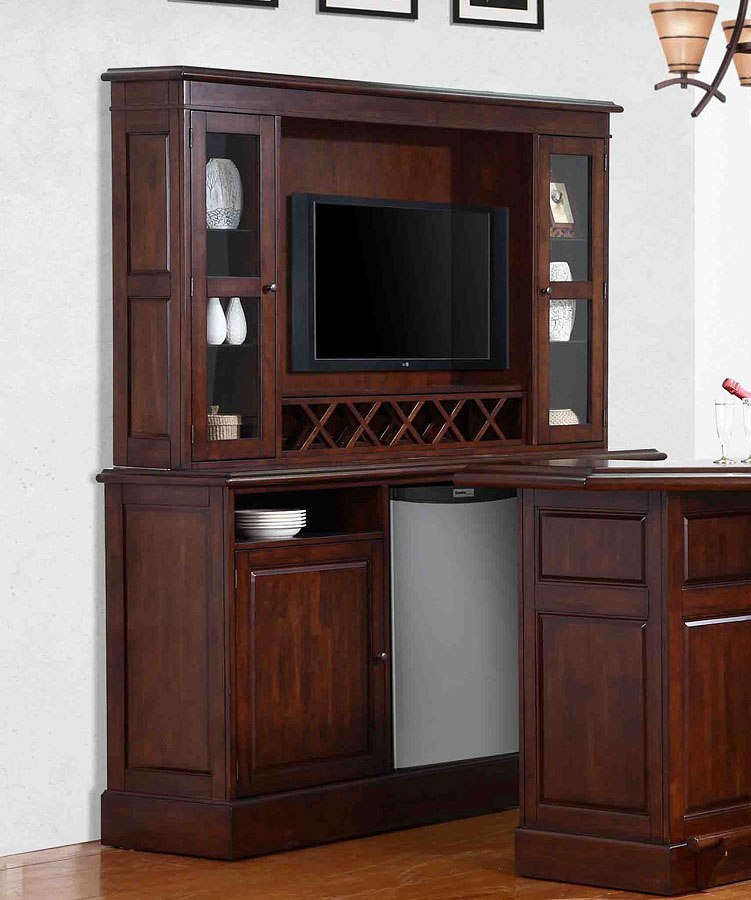 Entertainment Bar Furniture: Belvedere Entertainment Back Bar W/ Hutch ECI Furniture