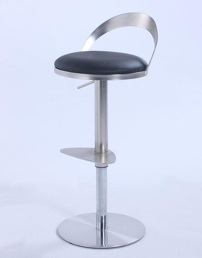 Thin Metal Back Adjustable Height Stool