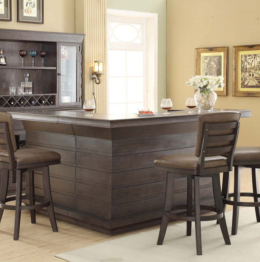 Bar Furniture Home: Toscana Return Home Bar ECI Furniture, 1 Reviews
