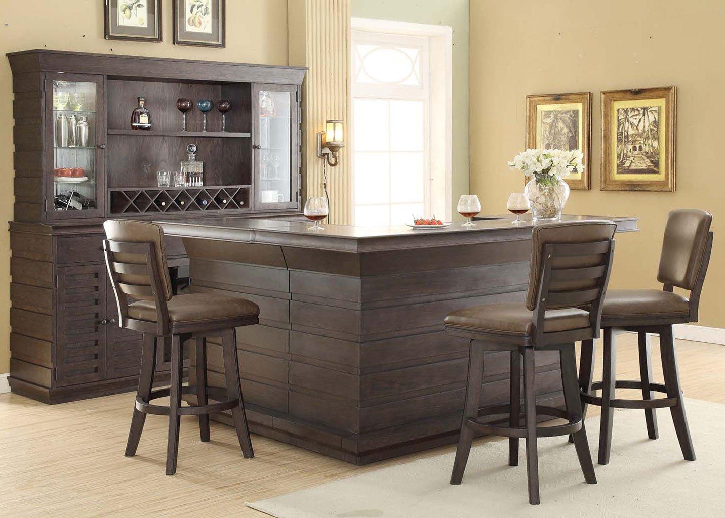 toscana home bar set eci furniture 1 reviews furniture cart. Black Bedroom Furniture Sets. Home Design Ideas