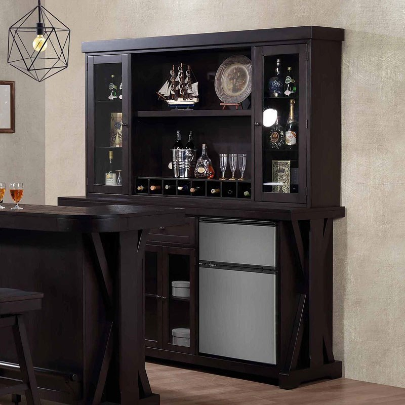 Rum Pointe Back Bar w/ Hutch