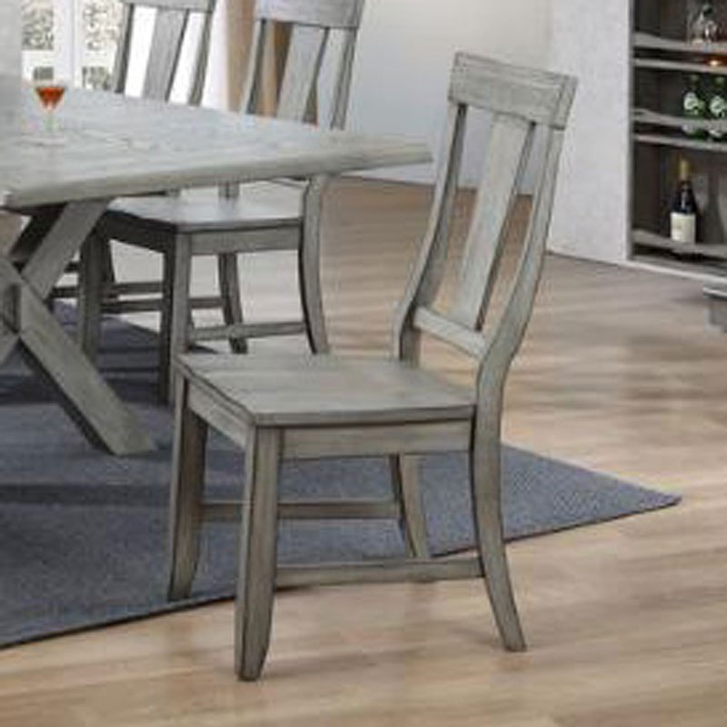 Graystone Wood Seat Side Chair (Set Of 2)