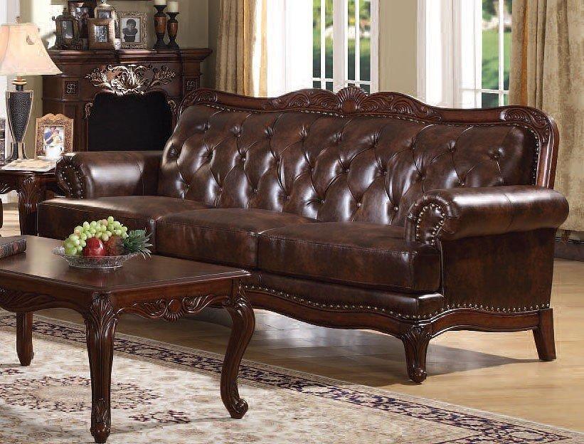 Birmingham Leather Sofa