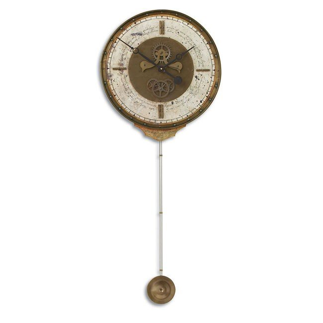 Leonardo Chronograph Cream Clock