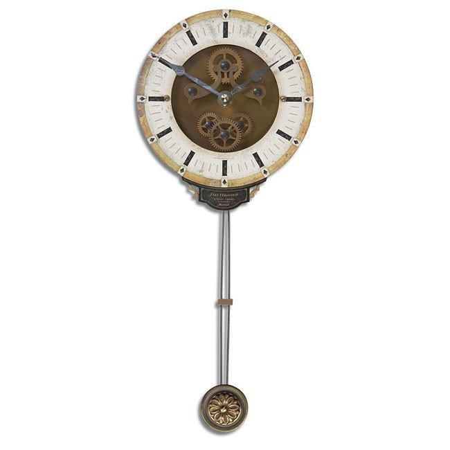 Mini Leonardo Cream Wall Clock