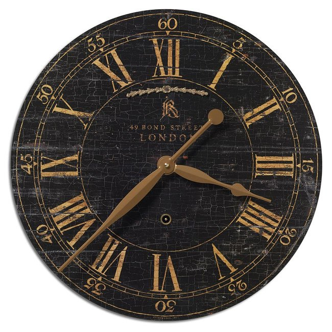 "Bond Street 18"" Clock"