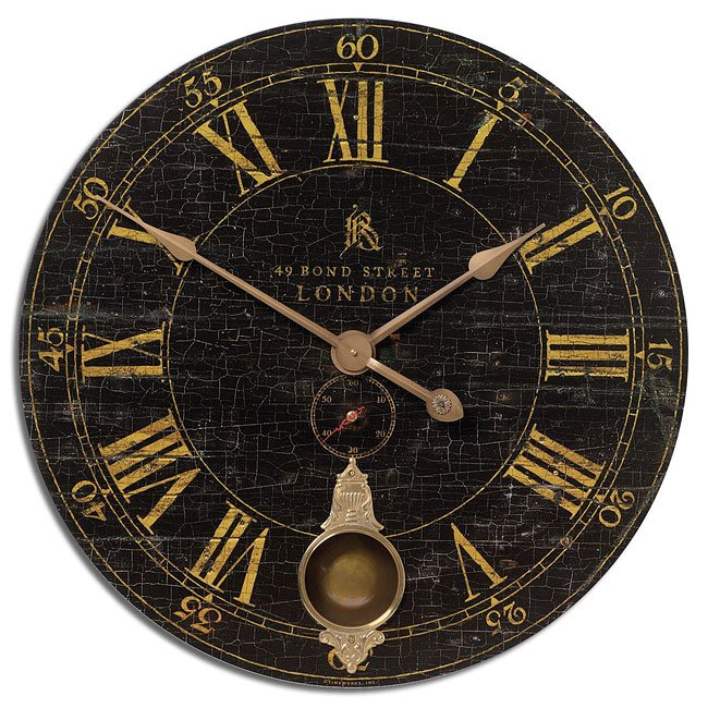 "Bond Street 30"" Clock"