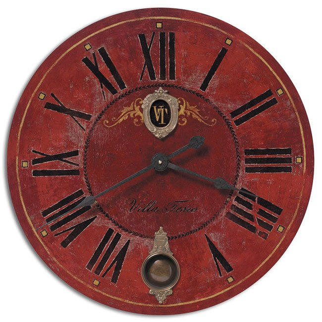 """Villa Tesio 30"""" Clock"""
