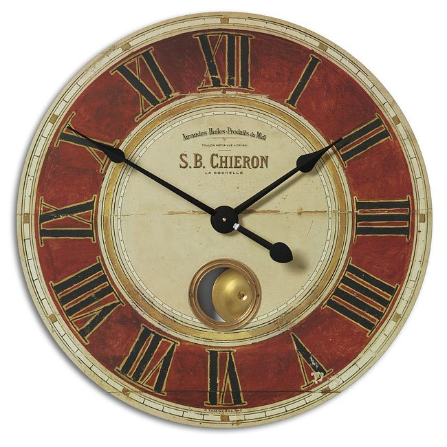 "S.B. Chieron 30"" Clock"