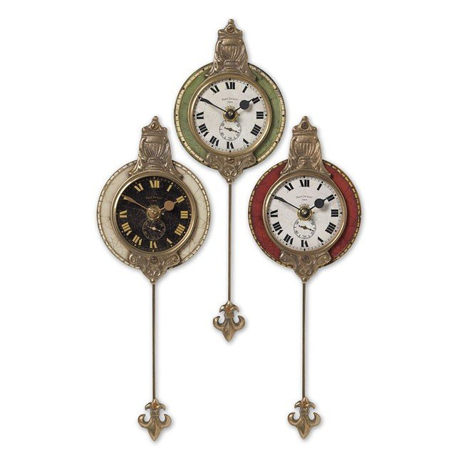 Monarch Clock (Set of 3)