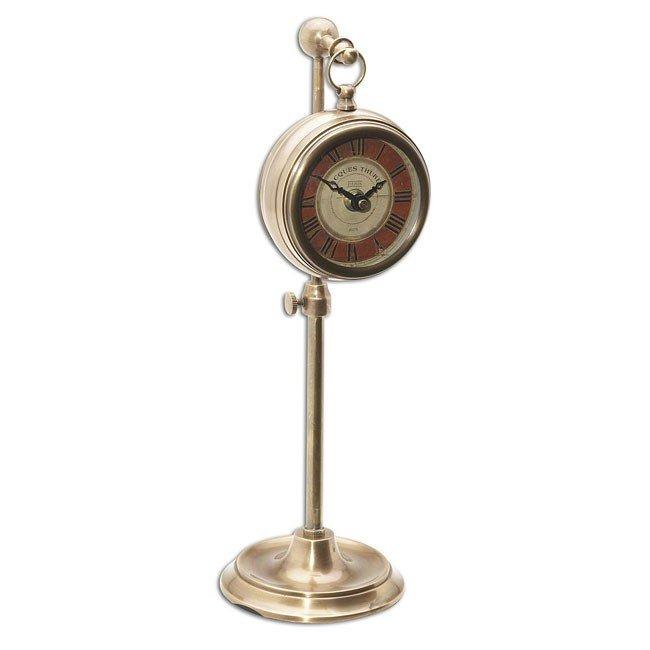 Pocket Watch Brass Thuret Clock