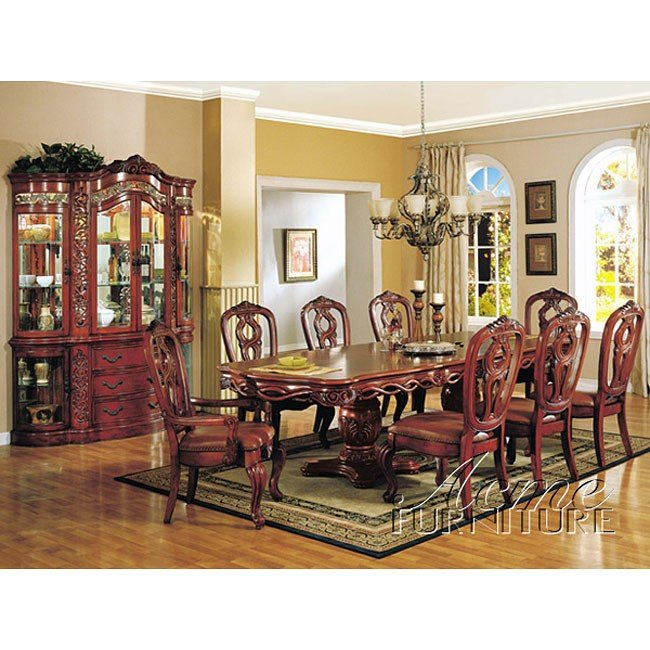 Toulouse Formal Dining Room Set Acme Furniture