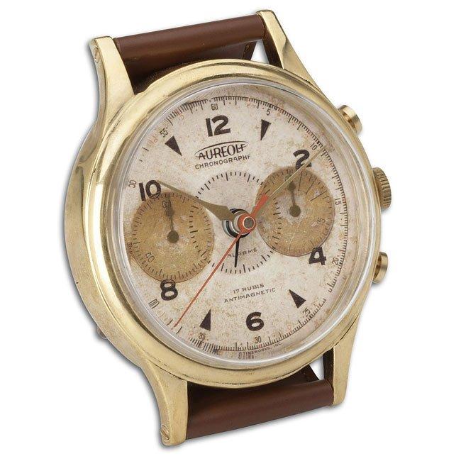 Wristwatch Alarm Clock Round Aureole