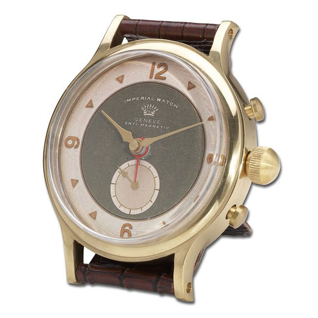 Wristwatch Alarm Clock Round Imperial