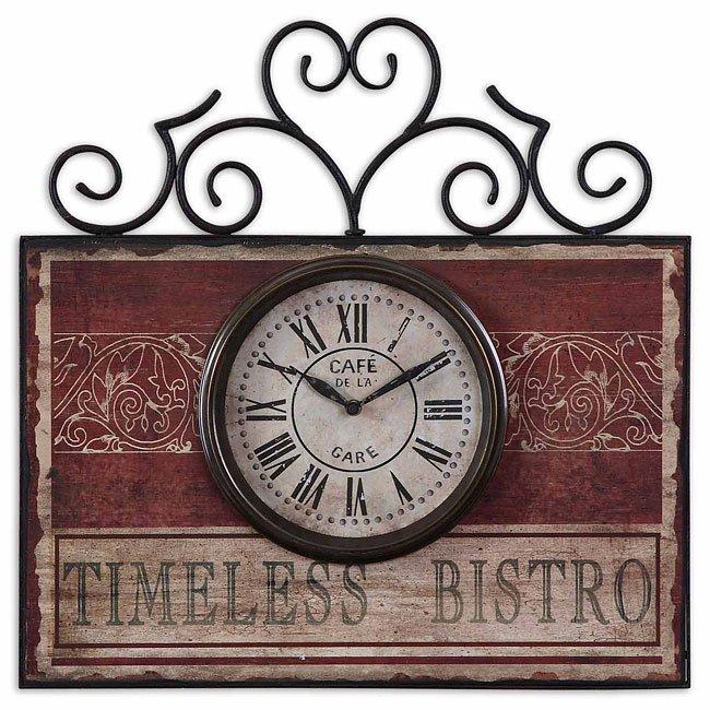 Timeless Bistro Clock