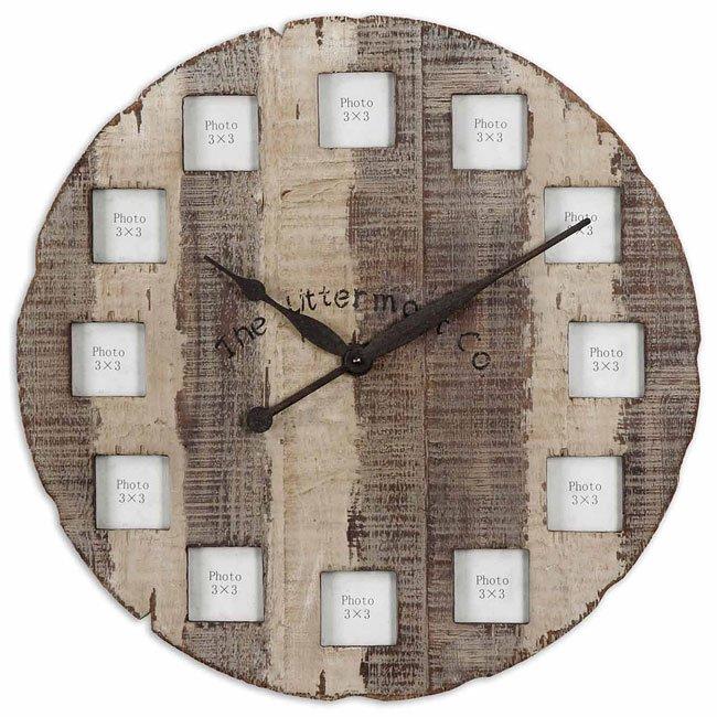 Barn Wood Clock