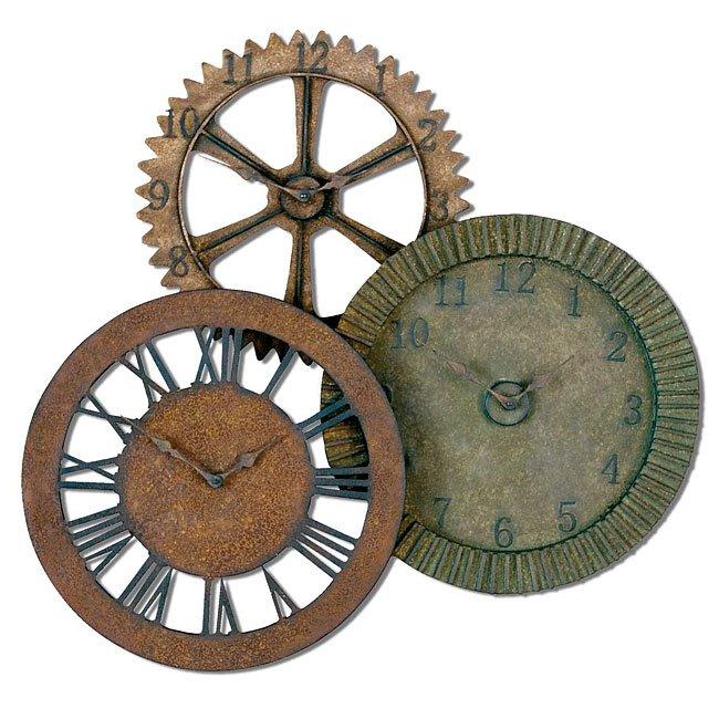 Rusty Gears Clock