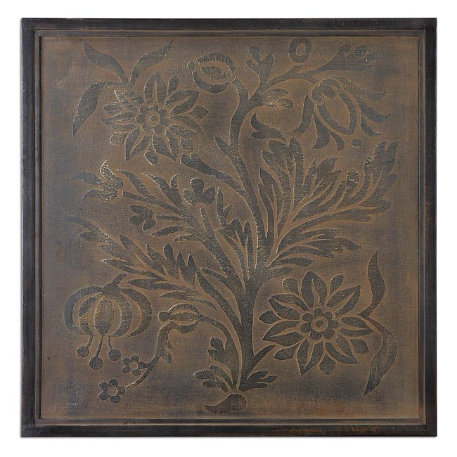 Spring Bloom Metal Wall Art