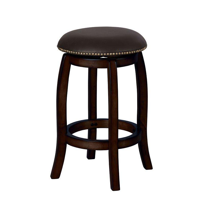 Chelsea Counter Stool W Swivel Espresso Acme Furniture