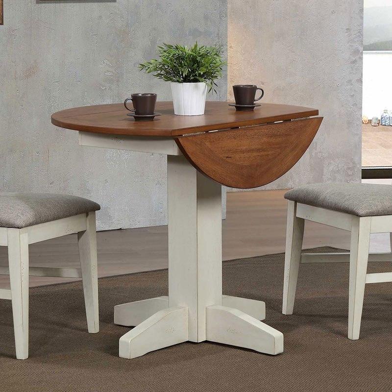 Antique White Drop Leaf Table Eci Furniture Furniture Cart