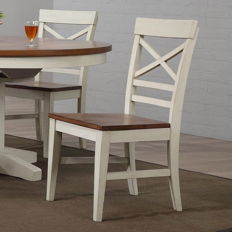 Antique White Round Dining Room Set Eci Furniture Furniture Cart