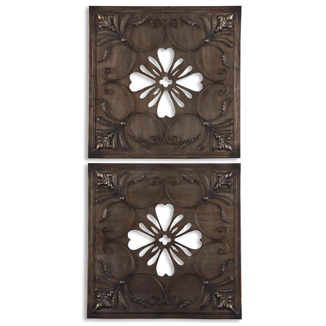 Mikilana Metal Wall Art (Set of 2)