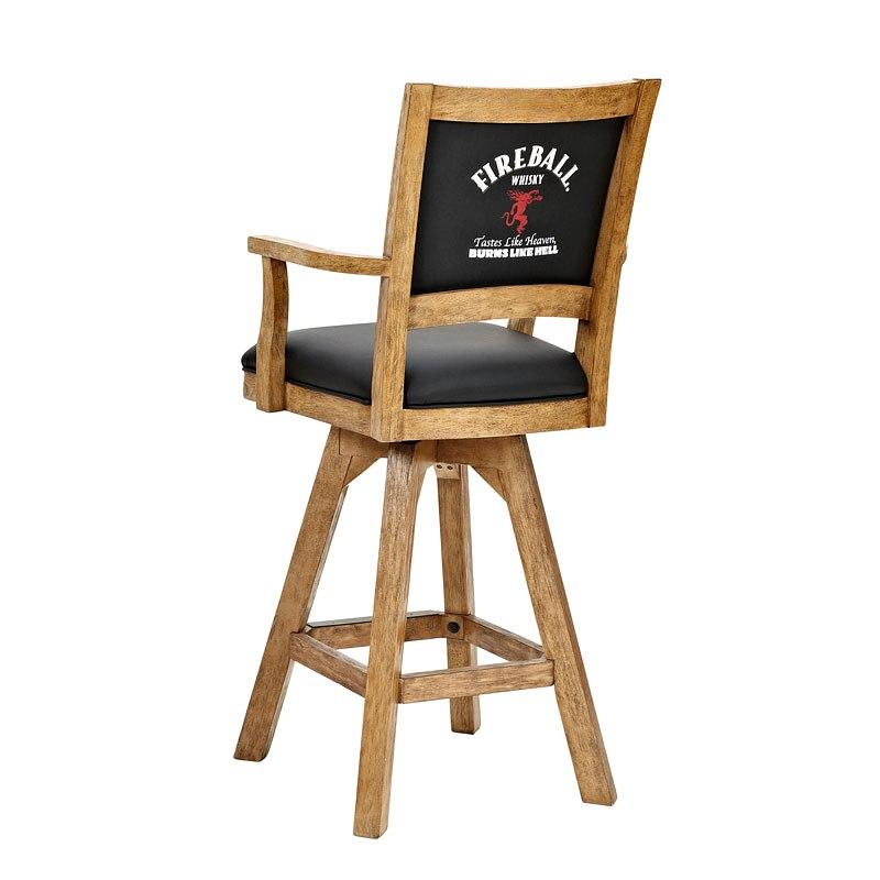 Enjoyable Fireball 30 Inch Arm Barstool Set Of 2 Ncnpc Chair Design For Home Ncnpcorg