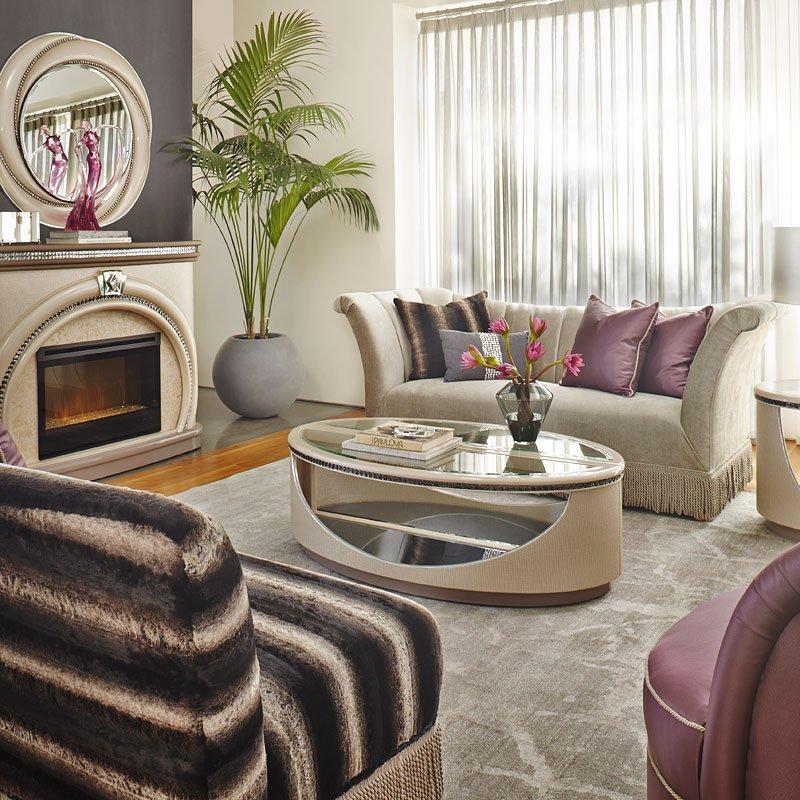 Overture Living Room Set Aico Furniture