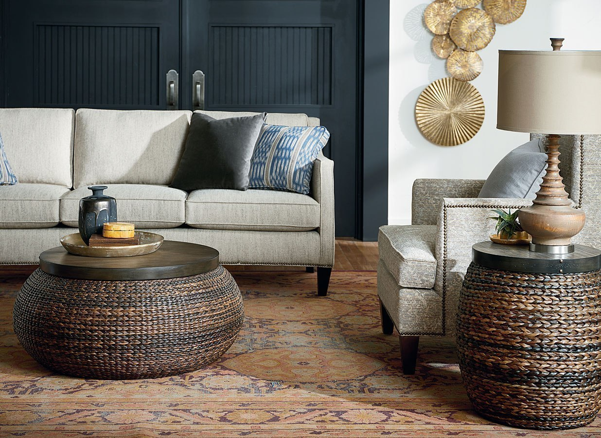 Hidden Treasures Woven Abaca Occasional Table Set