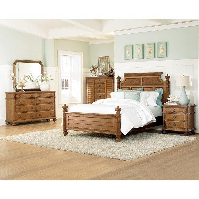 Grand Isle Poster Bedroom Set American Drew Furniture Cart