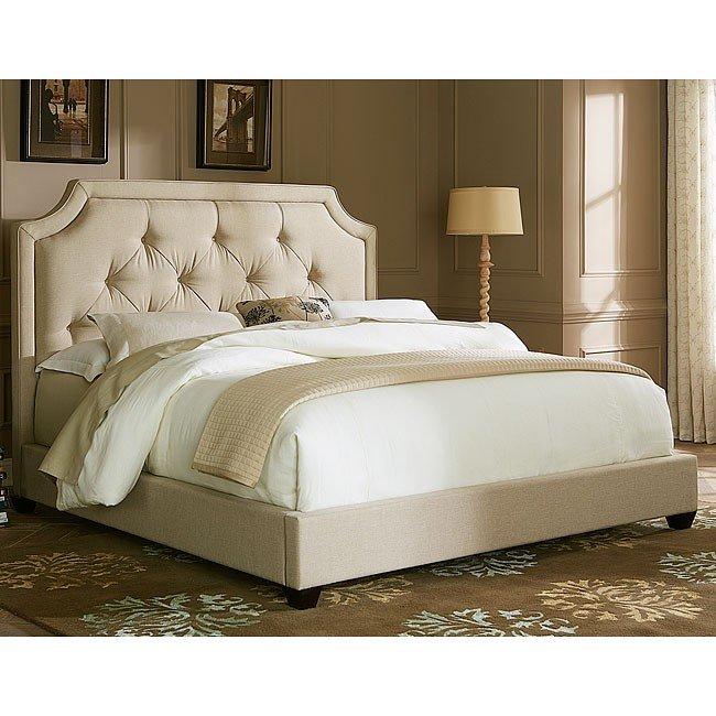 400 Sloped Upholstered Bed