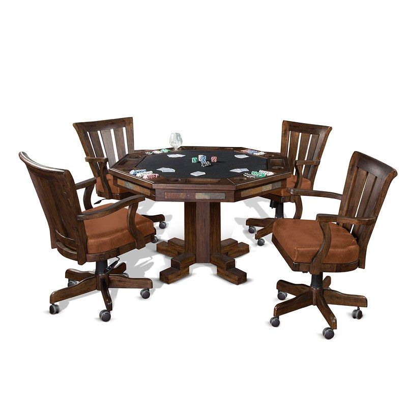 Santa Fe Game And Dining Table Set